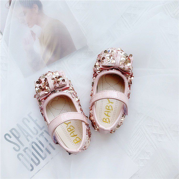 KSB1251MD-101,BLINK PINK PARTY SHOES MEDIUM SZ 26-30