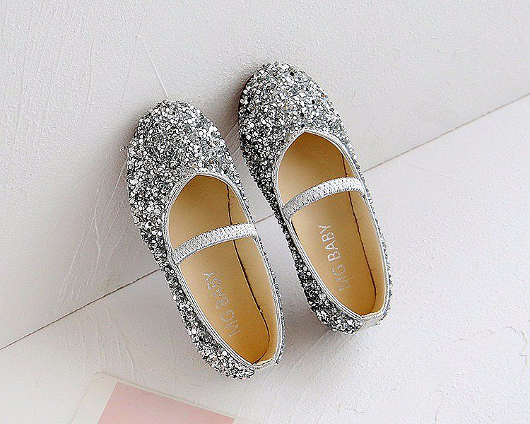 KSB1256-089/099,SILVER BLINK SHOES BALLERINA