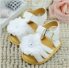 PW195-041,WHITE ROSE BABY SANDAL