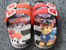 SLP022-47 SANDAL PAWPATROL BLACK RED