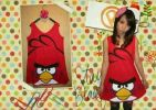 CT124RE ANGRY BIRD RED TEE
