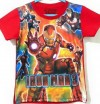 CTB025-19,IRON MAN RED TEE