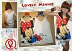 CT86-030, MINNIE MOUSE SLEEP SHIRT