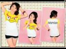 CT105-040,AB TEE YELLOW WHITE