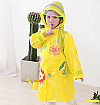 RCT004YL-071 JAS HUJAN (RAINCOAT) LION YELLOW (PREMIUM)