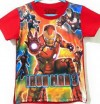 CTB008-19, IRON MAN RED TEE