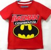 CTB011-019, BATMAN LOGO RED TEE FULL COTTON