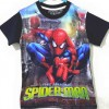 CTB018-19, SPIDERMAN ACTION BLACK TEE