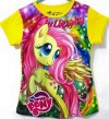 CTB021-19, PONY YELLOW TEE