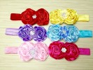 ACC173-032,TWO FLOWER HEADBAND