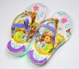 SDL017PU-031 SLIPPER SOFIA GOLD PURPLE + STRAP (WITH LAMPS)