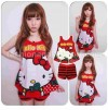 MOM137-30,KITTY STRIPPE KUTUNG TEE