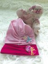 ACC401-018,TURBAN LITTLE PONY PINK