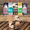 SOC128-013,,DOGGY SERIES SOCK all size (4-9th) CODE A,B,C,D,E