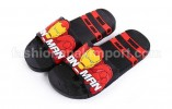 SDL34-41 SANDAL IRON MAN BLACK (24) SIZE 24-35