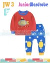 JW3F-51 PAJAMAS UNDERWORLD RED - BLUE SZ6M - 3Y (6)