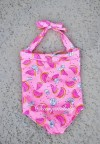 SL004-038,WATERMELON PINK SWIMWEAR SIZE 2-6TH