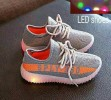 BOS282-063,GREY LAMP SHOES  SIZE 21-25