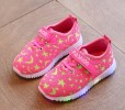 BOS001-064,PINK LAMP STAR SHOES SIZE 21-25
